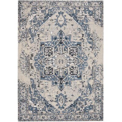 Chenault Blue Area Rug Rug Size: Rectangle 5' x 8'