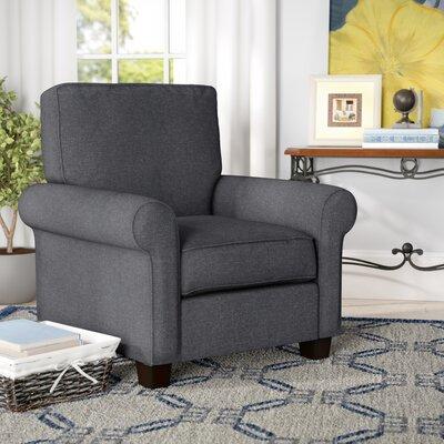 Somerville Modern Armchair Upholstery: Gray
