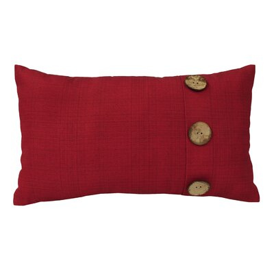 Hopkinton Indoor/Outdoor Lumbar Pillow Color: Red