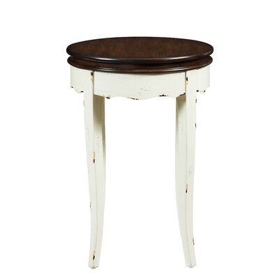 Detwiler End Table Table Base Color: White