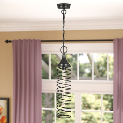 Opehlia 1-Light Foyer Pendant Finish: Oil Rubbed Bronze