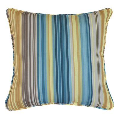 Brownlee Indoor/Outdoor Throw Pillow Size: 18 x 18