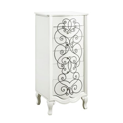 Cowan Jewelry Armoire with Mirror