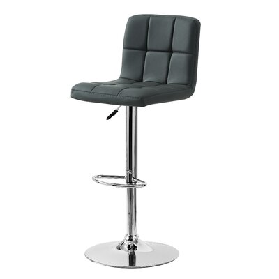 Geurie Adjustable Height Swivel Bar Stool