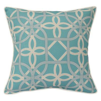 Burmeister Indoor/Outdoor Throw Pillow Color: Aqua