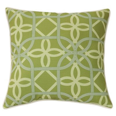 Burmeister Indoor/Outdoor Throw Pillow Color: Green