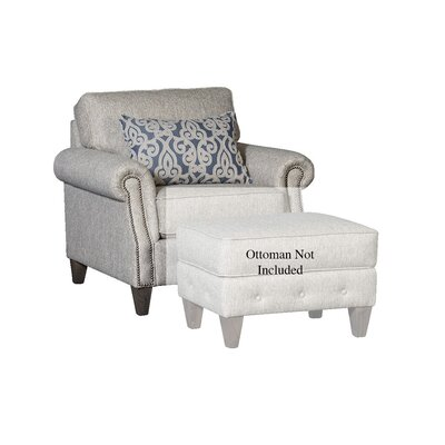 Citium Club Chair Upholstery: Polypropylene Runaround Stone, Nailhead Detail: Included