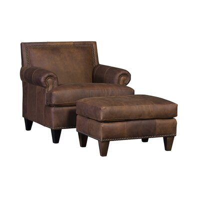 Marcello Club Chair and Ottoman