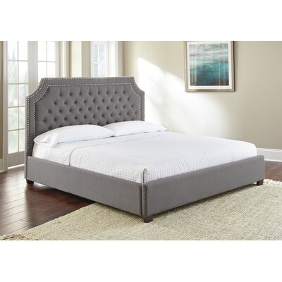 Hanner Upholstered Panel Bed Size: King