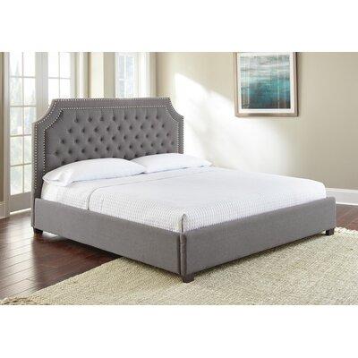 Hanner Upholstered Platform Bed Size: King