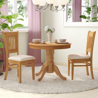 Cedarville 3 Piece Dining Set Finish: Oak