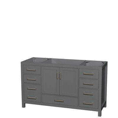 Sheffield 60 Single Bathroom Vanity Base