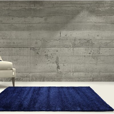 Chantry Blue Area Rug Rug Size: Rectangle 65x 95