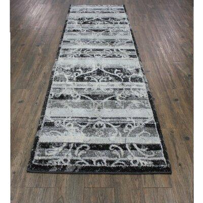 Wootton Black/Gray/Tan Area Rug