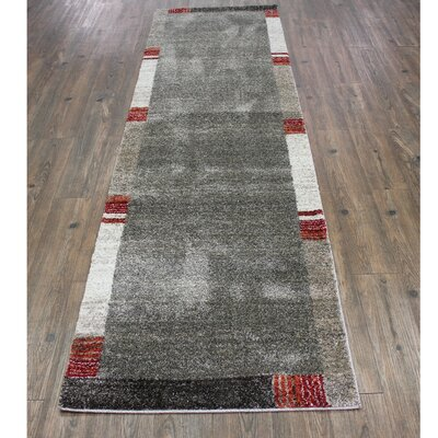 Wootton Beige/Red Area Rug