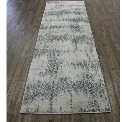 Wootton Ivory/Silver/Gray Area Rug