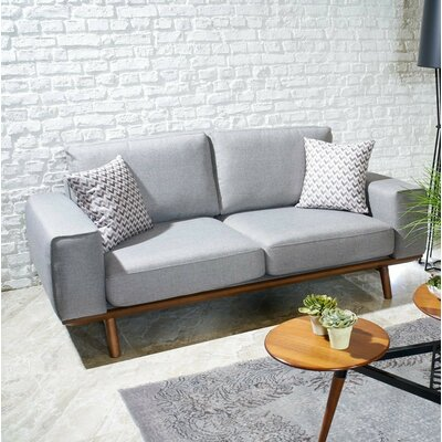 Chasse Sofa Upholstery: Light Gray