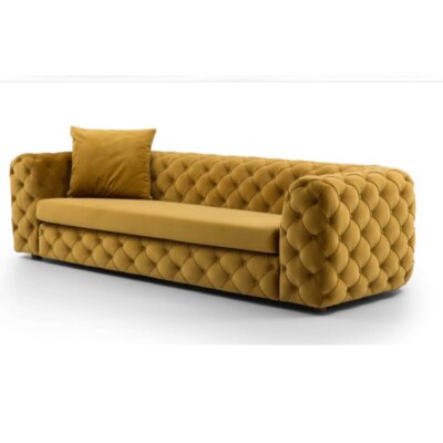 Keil Sofa Upholstery: Yellow