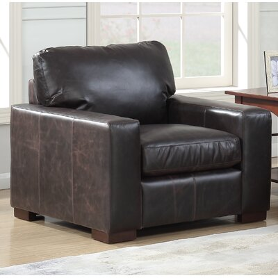 Chiasson Leather Club Chair