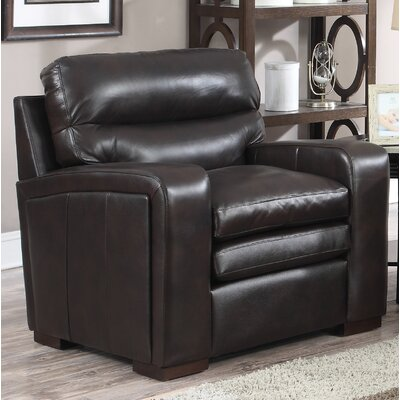 Womac Leather Club Chair