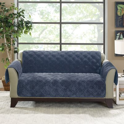 Plush Comfort Loveseat Slipcover Color: Storm Blue