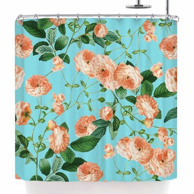 Rosy Life Shower Curtain