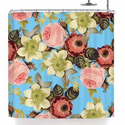 Wild Floral Shower Curtain