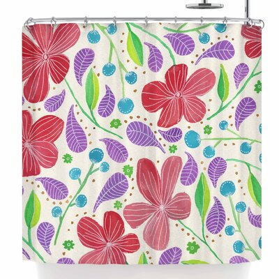 Viviana Gonzalez Spring Vibes Iii Shower Curtain