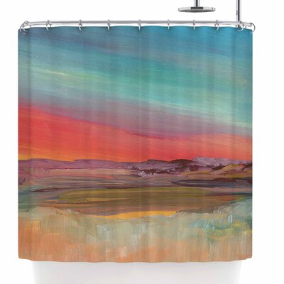 Viviana Gonzalez Improvisation 39 Shower Curtain