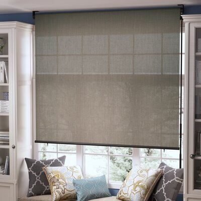 Solar Shade Blind Size: 72 x 72, Color: Coconut Brown