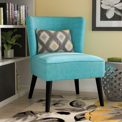 Lasalle Slipper Chair Upholstery: Sky Blue