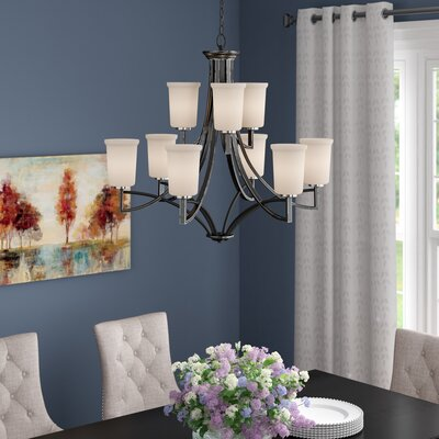 Rockbridge 9-Light Shaded Chandelier