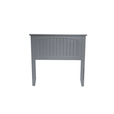 Bonomo Panel Headboard Size: Twin, Color: Gray