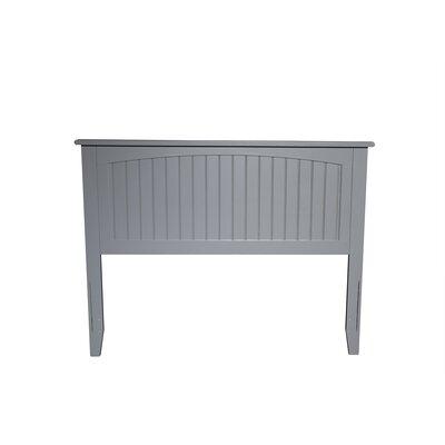 Bonomo Panel Headboard Size: Full, Color: Gray