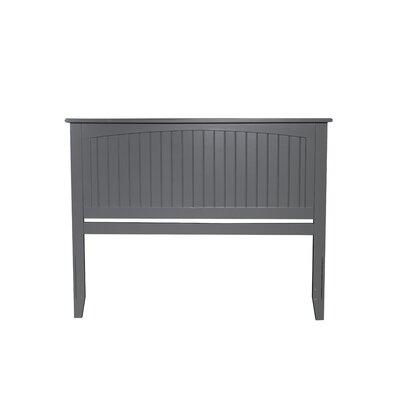 Bonomo Panel Headboard Size: Queen, Color: Gray