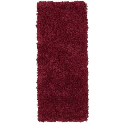 Costantino Soft High Pile Red Area Rug Rug Size: Rectangle 2 x 5