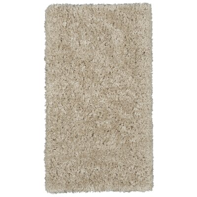 Costantino Fuzzy High Pile Beige Area Rug Rug Size: Rectangle 27 x 5