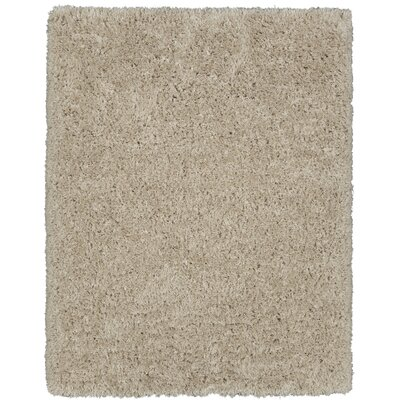 Costantino Fuzzy High Pile Beige Area Rug Rug Size: Rectangle 53 x 7