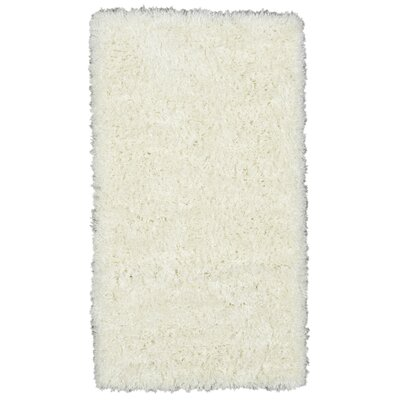 Costantino Fuzzy High Pile Ivory Area Rug Rug Size: Rectangle 27 x 5