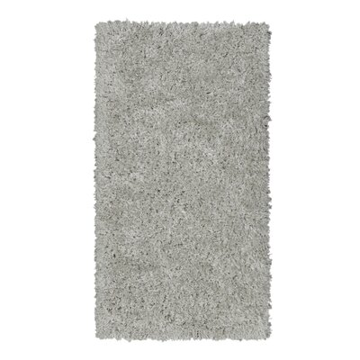 Costantino Fuzzy High Pile Gray Area Rug Rug Size: Rectangle 27 x 5