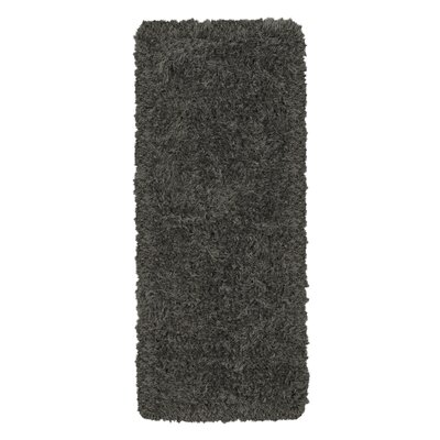 Costantino Fuzzy High Pile Dark Gray Area Rug Rug Size: Rectangle 2 x 5