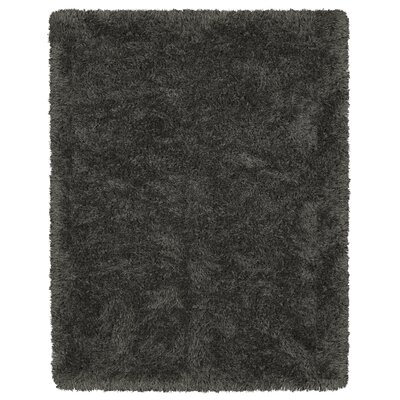 Costantino Fuzzy High Pile Dark Gray Area Rug Rug Size: Rectangle 710 x 910