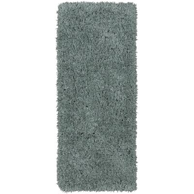 Costantino Fuzzy High Pile Sage Green Area Rug Rug Size: Rectangle 2 x 5