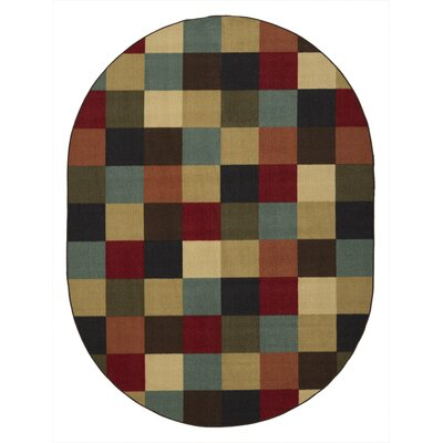 Galesburg Area Rug Rug Size: Oval 5 x 66