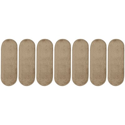 Tharp Oval Camel Stair Tread Set Quantity: 7