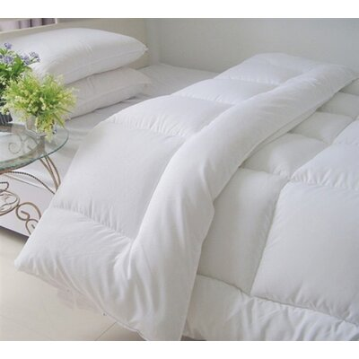 Ultra Plush All Season Down Alternative Comforter Size: King