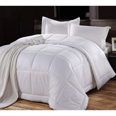 Hotel Style All Season Down Alternative Comforter Size: King