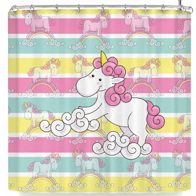 Shirlei Patricia Muniz Unicornio Shower Curtain
