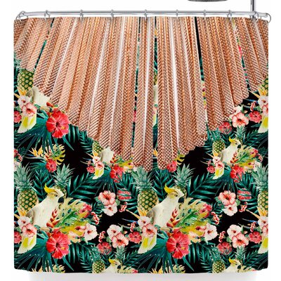 Shirlei Patricia Muniz Tropical Shower Curtain