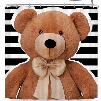 Shirlei Patricia Muniz Little Big Bear Sitting In Str Shower Curtain